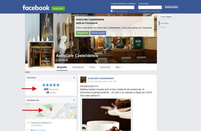 Convertir perfil Facebook en Fan page