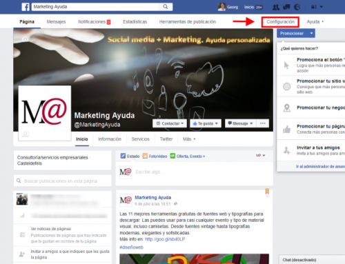 Facebook tutorial para posts multilingüe