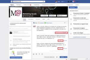 Oferta turística publicación multi idioma en Facebook página