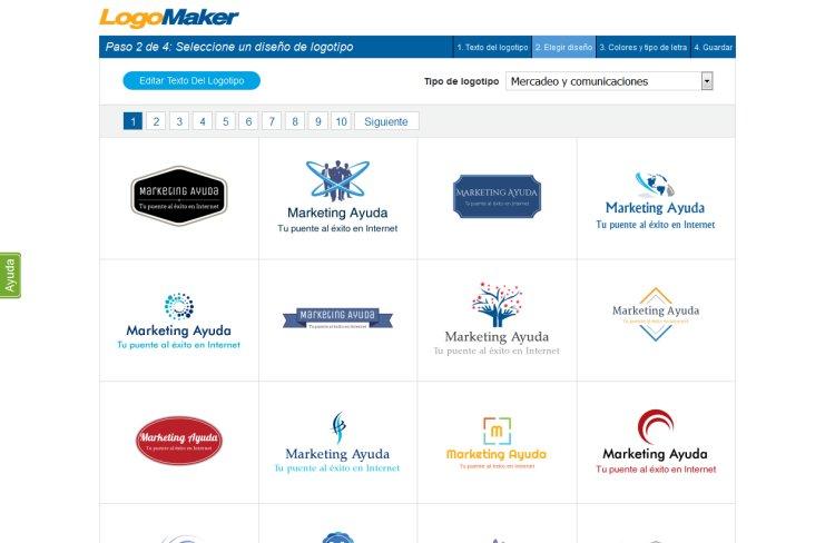 Herramientas gratuitas para creación online de logotipos