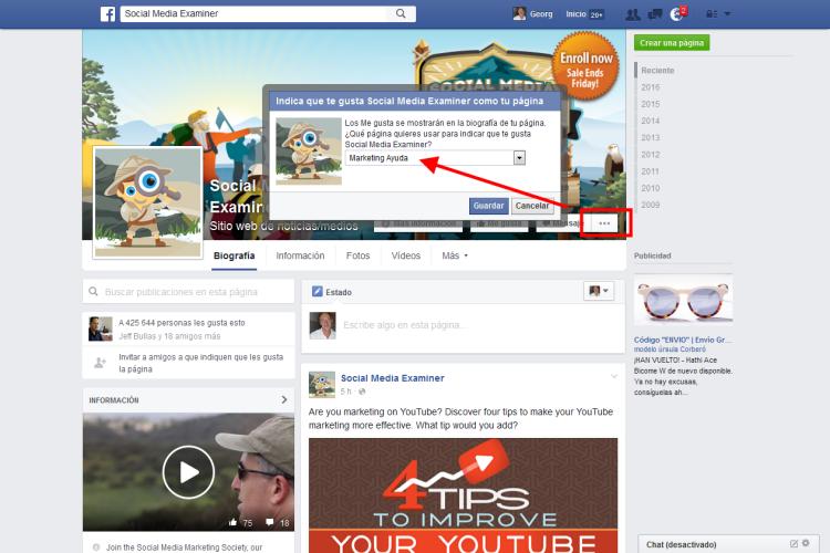 5 Facebook actualizaciones para empresas y su impacto