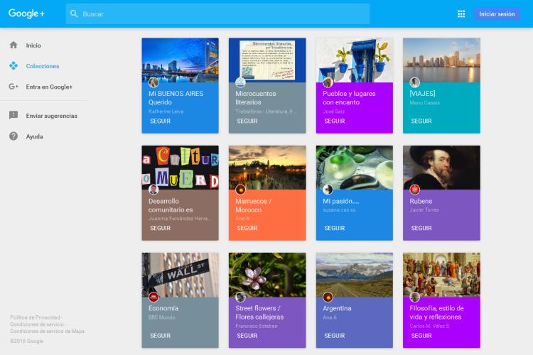 Cómo crear una Google Plus Colección o Collection
